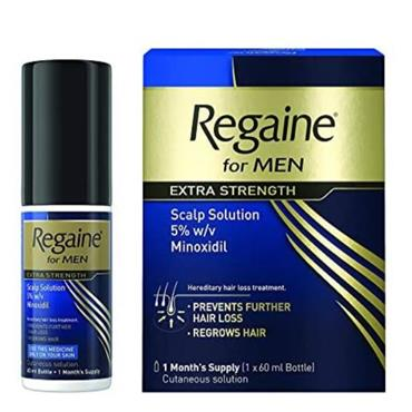 REGAINE EXTRA STRENGTH FOR MEN AND WOMEN 1 MONTH SUPPLY 1 X 60ML