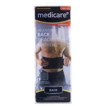 MEDICARE SPORT BACK BRACE 1SIZ