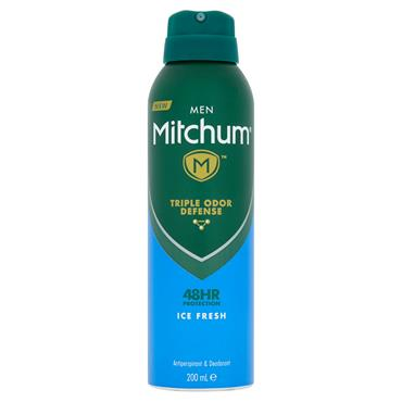 MITCHUM MEN 48HR ICE FRESH ANTIPERSPIRANT 200ML