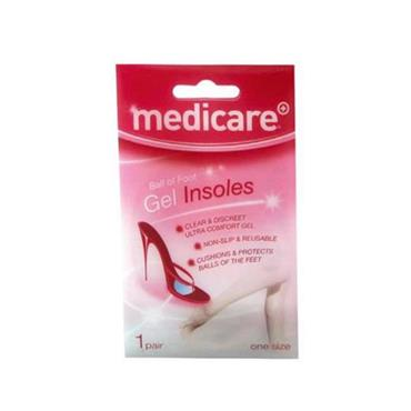 MEDICARE GEL INSOLES MD565