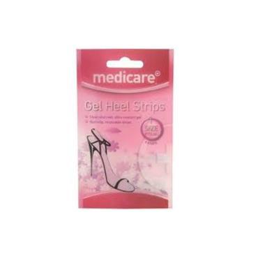 MEDICARE GEL HEEL STRIPS MD581