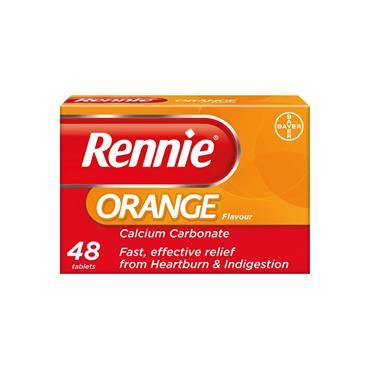 RENNIE ORANGE CHEWS 48S