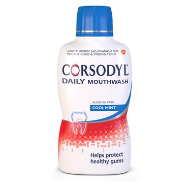 CORSODYL DAILY MOUTH WASH COOL MINT 500ML