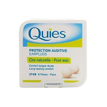 QUIES PROTECTION AUDITIVE PURE WAX EAR PLUGS 8S