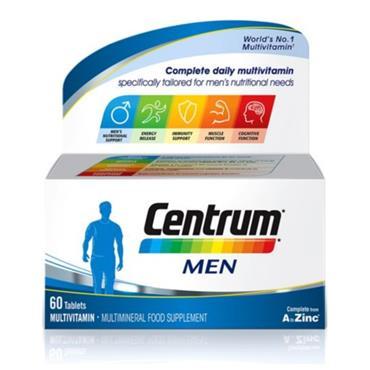 CENTRUM MEN MULTIVITAMIN 60 TABLETS