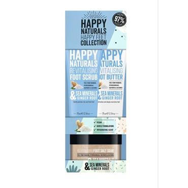 HAPPY NATURALS HAPPY FEET SEA MINERALS & GINGER ROOT