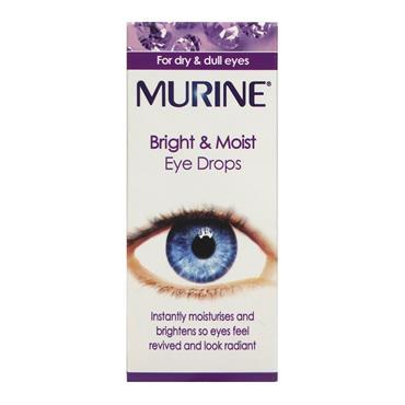 MURINE BRIGHT & MOIST EYE DROPS DROPS 15ML