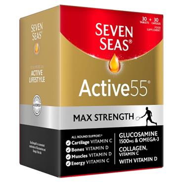 SEVEN SEAS ACTIVE 55 MAX STRENGTH 30 TABLETS