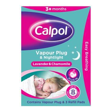 CALPOL CALPOL VAPOUR PLUG & NIGHTLIGHT