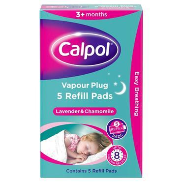 CALPOL CALPOL VAPOUR PLUG 5 REFILL PADS