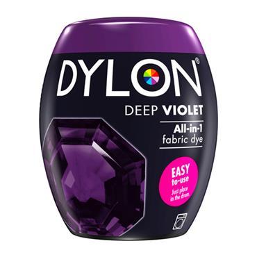 DYLON ALL IN 1 FABRIC DYE POD DEEP VIOLET 350G