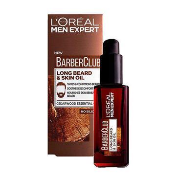 LOREAL BARBERCLUB BEARD AND SKIN OIL