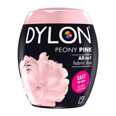 DYLON ALL IN 1 FABRIC DYE POD PEONY PINK 350G