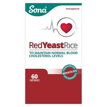 SONA SONA RED YEAST RICE CAPSULES 60 PACK