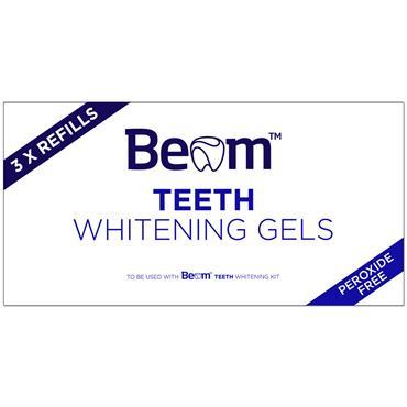 BEAM TEETH WHITENING GELS REFILLS 3 PACK