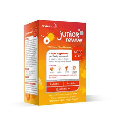 REVIVE ACTIVE REVIVE ACTIVE JUNIOR REVIVE 20 SACHETS MULTIVITAMIN