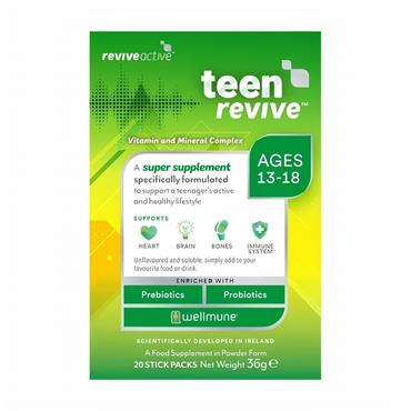 REVIVE ACTIVE REVIVE ACTIVE TEEN REVIVE AGES 13-18