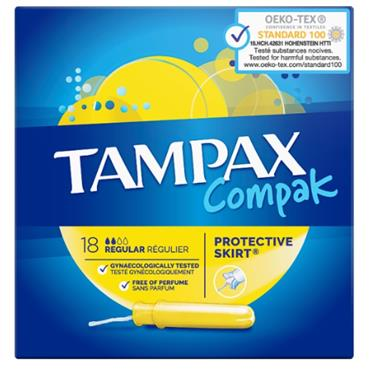 TAMPAX COMPAK REGULAR 18S