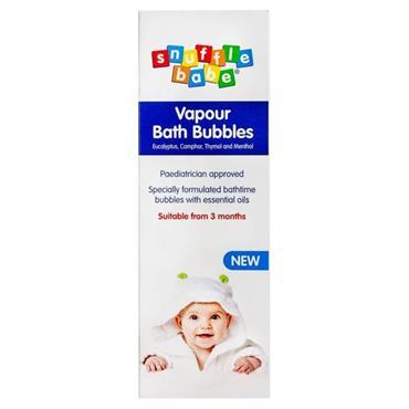 SNUFFLE BABE VAPOUR BATH BUBBLES 300ML