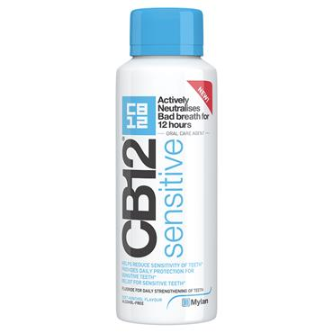 CB12 SENSITIVE MOUTHWASH 250ML