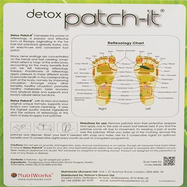 DETOX PATCH-IT 6 FOOT PATCHES