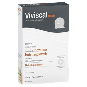 VIVISCAL MAN HAIR GROWTH SUPPLEMENT 60 TABLETS