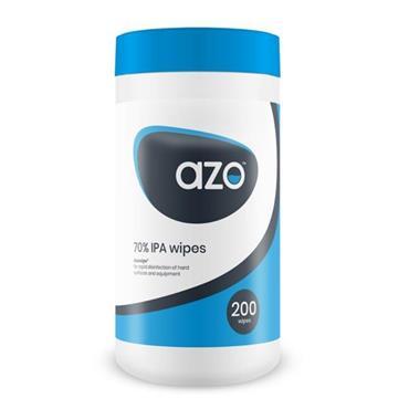 AZO 70% IPA WIPES 200 PACK