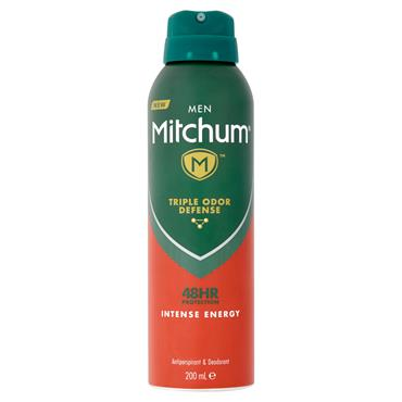 MITCHUM MEN 48HR INTENSE ENERGY ANTIPERSPIRANT 200ML
