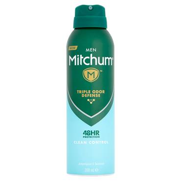 MITCHUM MEN 48HR CLEAN CONTROL 200ML