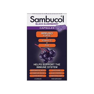 SAMBUCOL BLACK ELDERBERRY CAPSULES