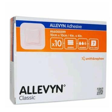 ALLEVYN ADHESIVE 10CM X 10CM