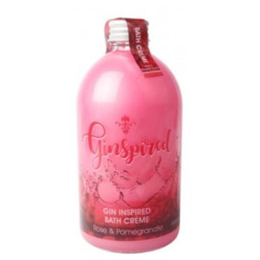 GINSPIRED GIN INSPIRED BATH CRYSTALS ROSE & POMEGRANATE