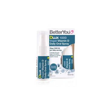 BETTER YOU D LUX 1000IU VEGAN ORAL SPRAY 15ML
