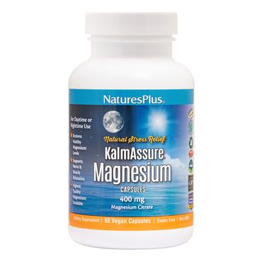 NATURES PLUS NATURES PLUS KALM ASSURE MAGNESIUM NIGHT TIME 60 VEGAN CAPSULES