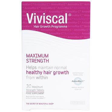 VIVISCAL MAX STRENGTH HAIR GROWTH SUPPLEMENT
