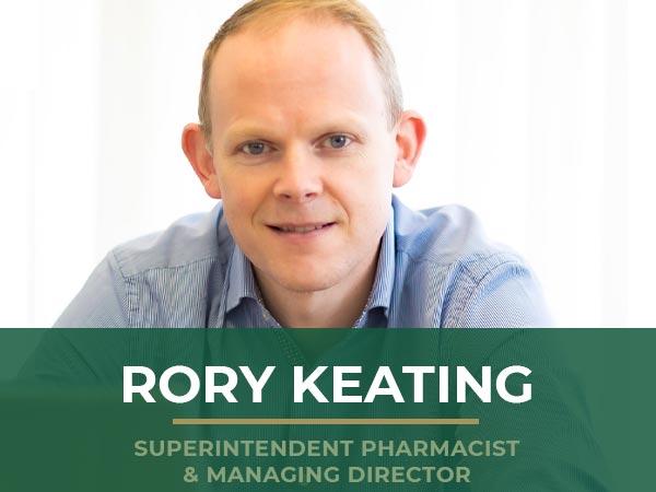 Rory Keating - Superintendent Pharmacist & Managing Director