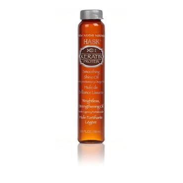HASK Hask Keratin Oil Smoothing Hair Shine Oil 18ml