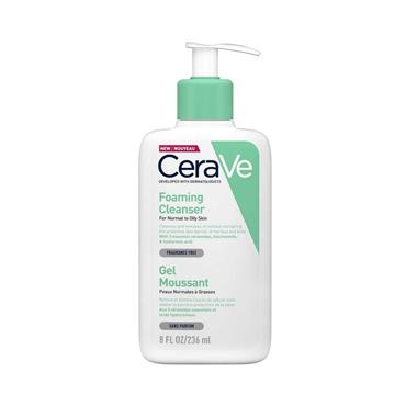 CERAVE CERAVE FOAMING CLEANSER FOR NORMAL TO OILY SKIN 236ML