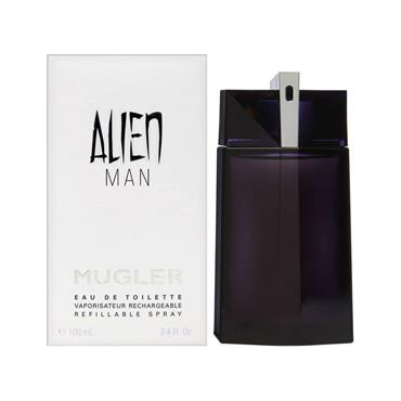 ALIEN MAN EAU DE TOILETTE REFILLABLE SPRAY 100ML