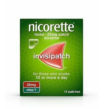 NICORETTE NICORETTE INVISI EXTRA STRENGTH 25MG/16 HOURS TRANSDERMAL PATCH 14 PATCHES