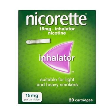 NICORETTE NICORETTE 15MG INHALER 20 CARTRIDGES