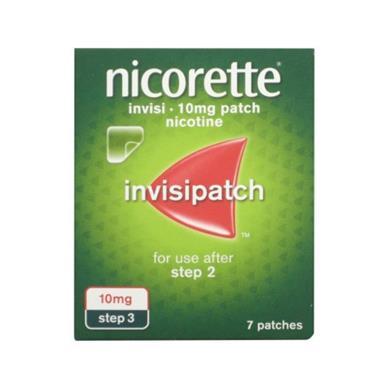 NICORETTE NICORETTE INVISI 10MG/16 HOURS TRANSDERMAL PATCH 7 PATCHES