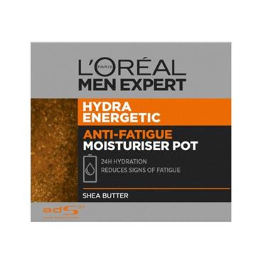 L'OREAL L'OREAL MEN EXPERT HYDRA ENERGETIC ANTI-FATIGUE MOISTURISER POT 50ML