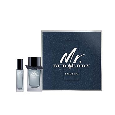 BURBERRY MR BURBERRY INDIGO 100ML EAU DE TOILETTE 2PC GIFTSET