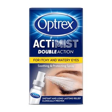 OPTREX  OPTREX ACTIMIST DOUBLE ACTION SPRAYI- ITCHY & WATERY EYES