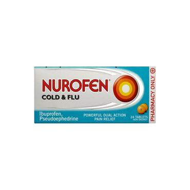 NUROFEN NUROFEN COLD & FLU TABLETS 24S
