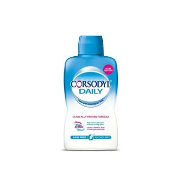 CORSODYL DAILY COOL MINT ALCOHOL FREE 500ML