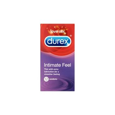 DUREX INTIMATE FEEL 12S