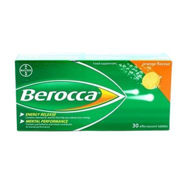 BEROCCA EFFERVESCENT TABS BOOST 30S