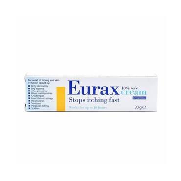 EURAX EURAX 10% W/W CREAM 30GM